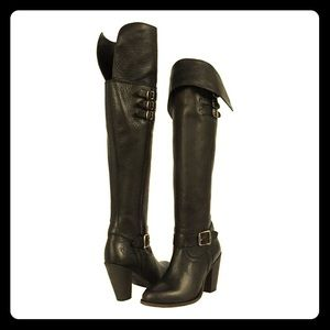 Frye Jenny Over The Knee Belted Boots, 6.5